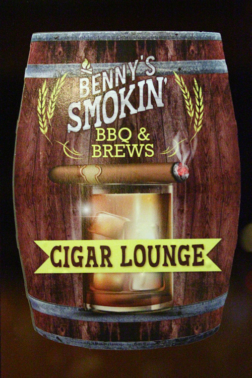 Binion's cigar lounge