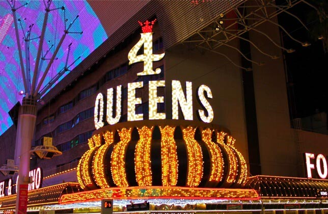 Four Queens Hotel Casino Fremont Street Experience