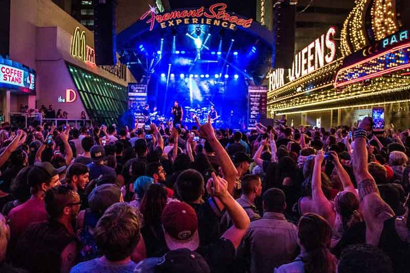 Labor Day Weekend 2019 in Downtown Las Vegas