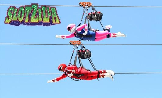Slotzilla Zoomline - Superman Style