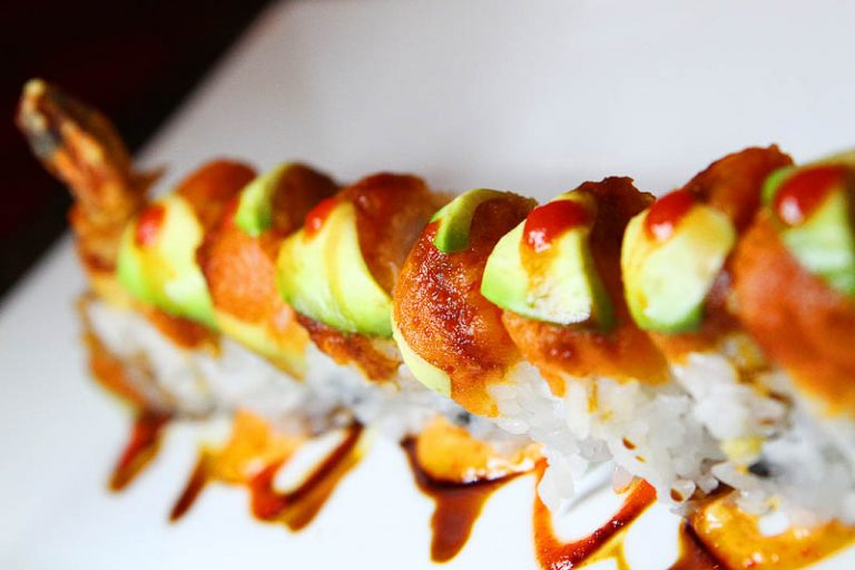 Red Sushi roll