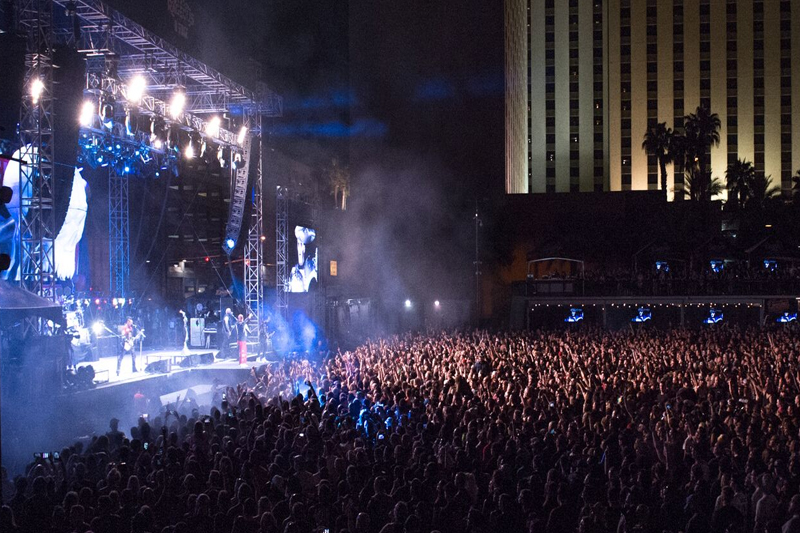 Las Rageous Rock Festival 2019 in Downtown Las Vegas