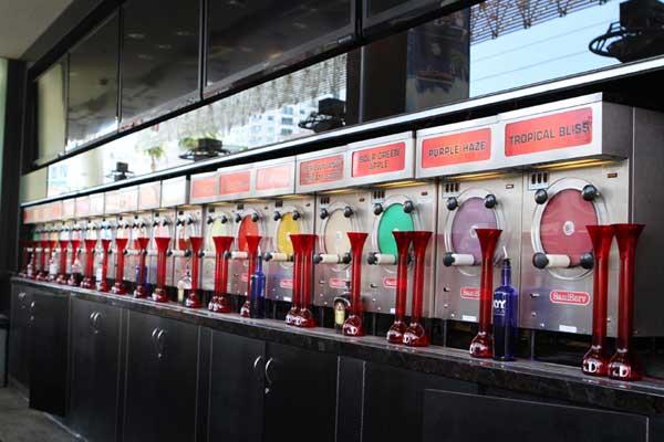 D Bar Slushy Drinks