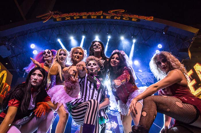 Halloween at Fremont Street Experience