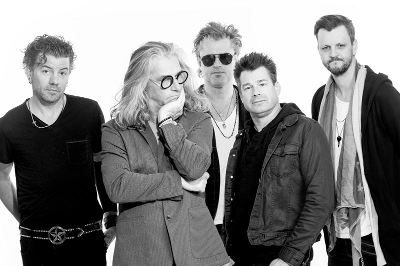 Collective Soul Concert at Fremont Street Experience in Las Vegas