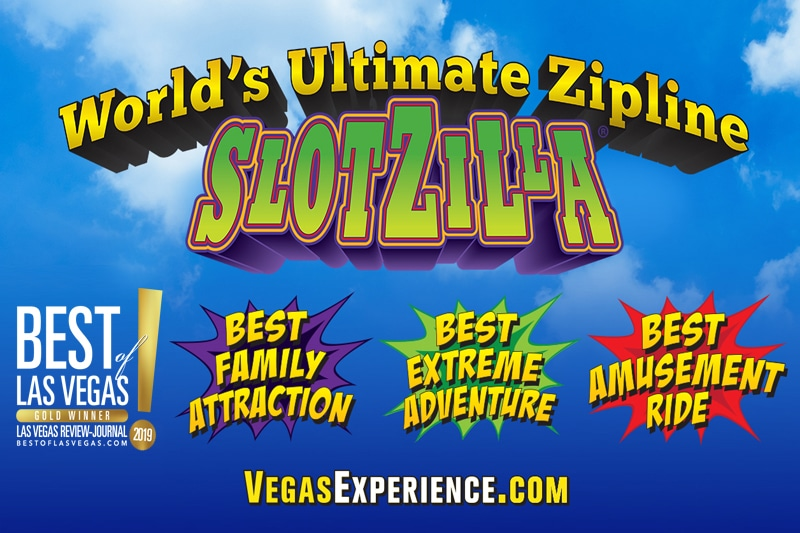 SlotZilla Named Best Zipline in Las Vegas and the Entire World