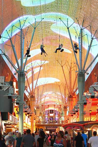 Slotzilla Canopy Downtown Las Vegas